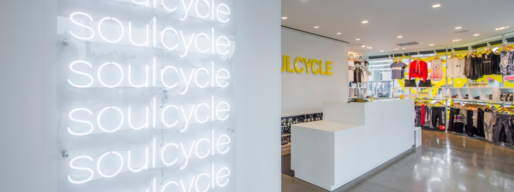SoulCycle studio at Preston Hollow