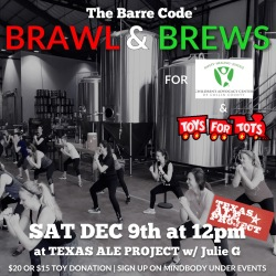 Brawl & Brews Toys for Tots 2017